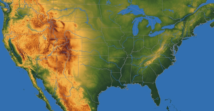 Your Growing Zone Finder US Snakehead Map Toothy Comments The - Relief map us